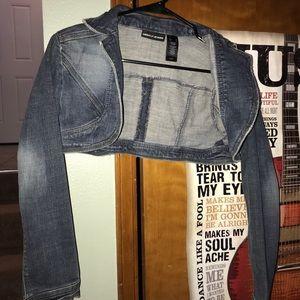 DKNY mini jean jacket
